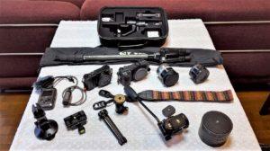撮影機材ヨーロッパ7ヵ国旅行記で使用した撮影機材紹介YouTubeカテゴリ一アーカイブ